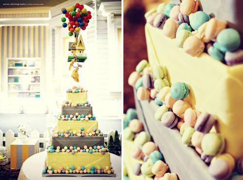 cakelove:    Up Wedding Cake