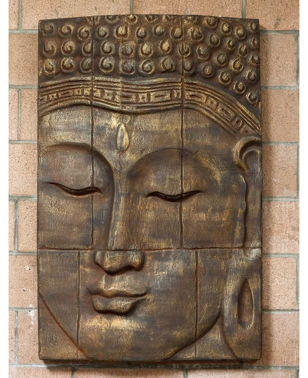 Buddha wall panel large decor