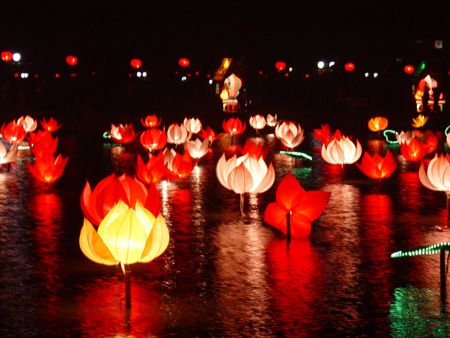 Lantern festival...I think in China.