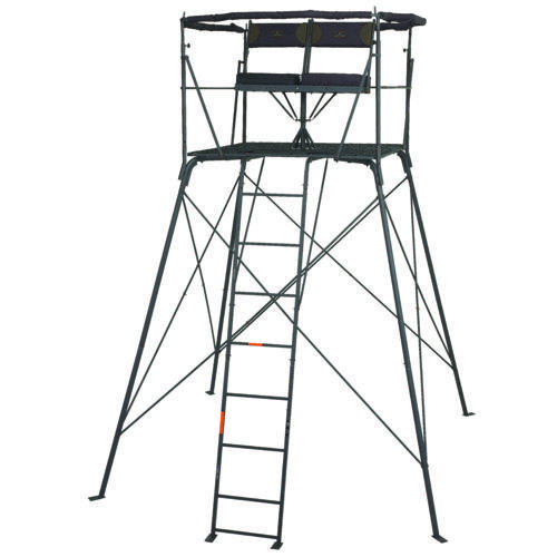 Game Winner 2 Man Quad Pod Rotate Stand Hunting Stands Tripod Deer Stand Deer Stand