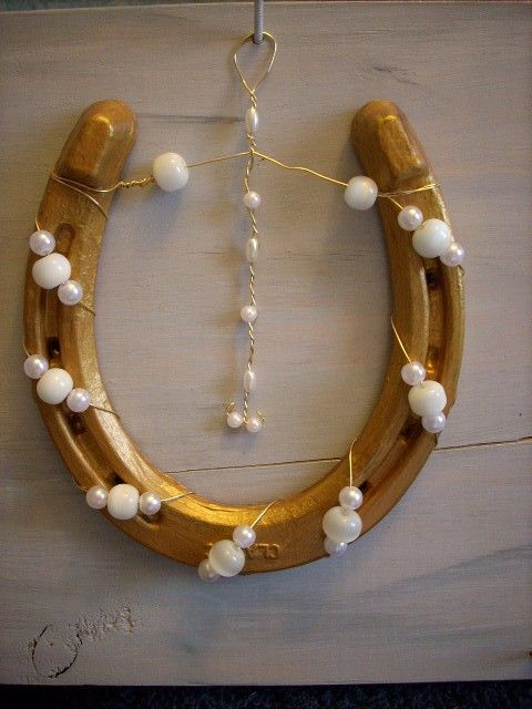A Decorative Use For Old Horse Shoes Horseshoes For Sale