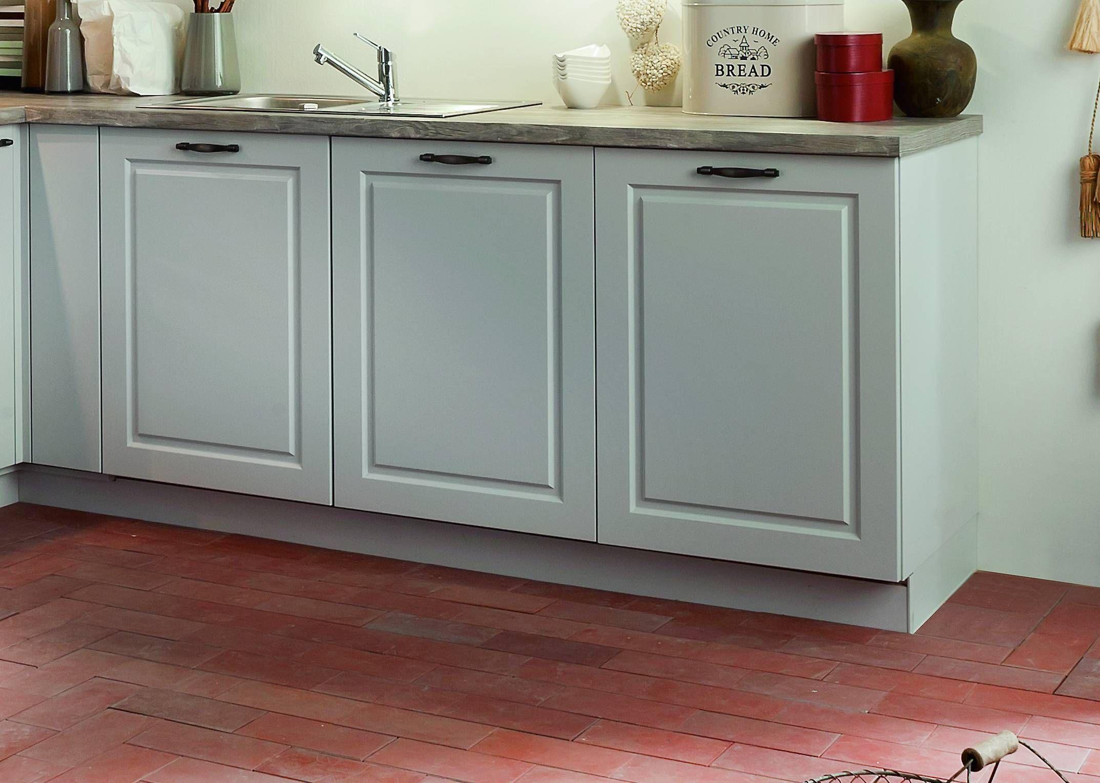 Kuchenunterschranke Im Landhausstil Von Bauformat In Der Farbe Moonlight Grey Seidenmatt Kuchen Styling Schrank Kuche Kuche Landhausstil