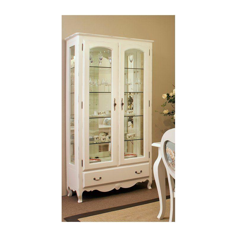 Cristaleira provence 327 loja de m veis masotti - Armarios para sala de estar ...