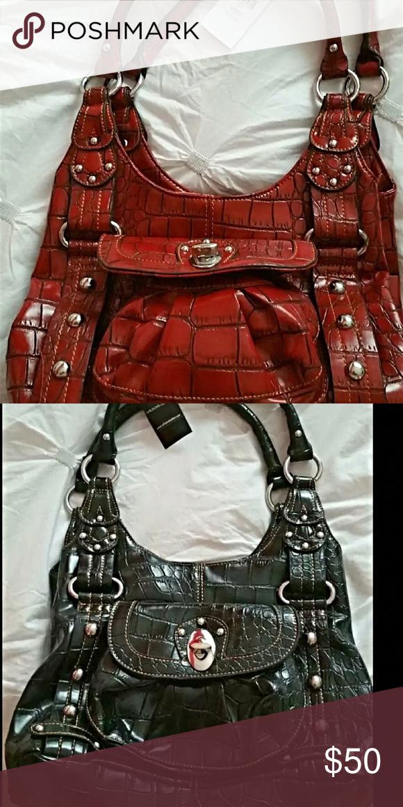 purse leather LEATHERHANDBAGS in 2020 Leather handbag