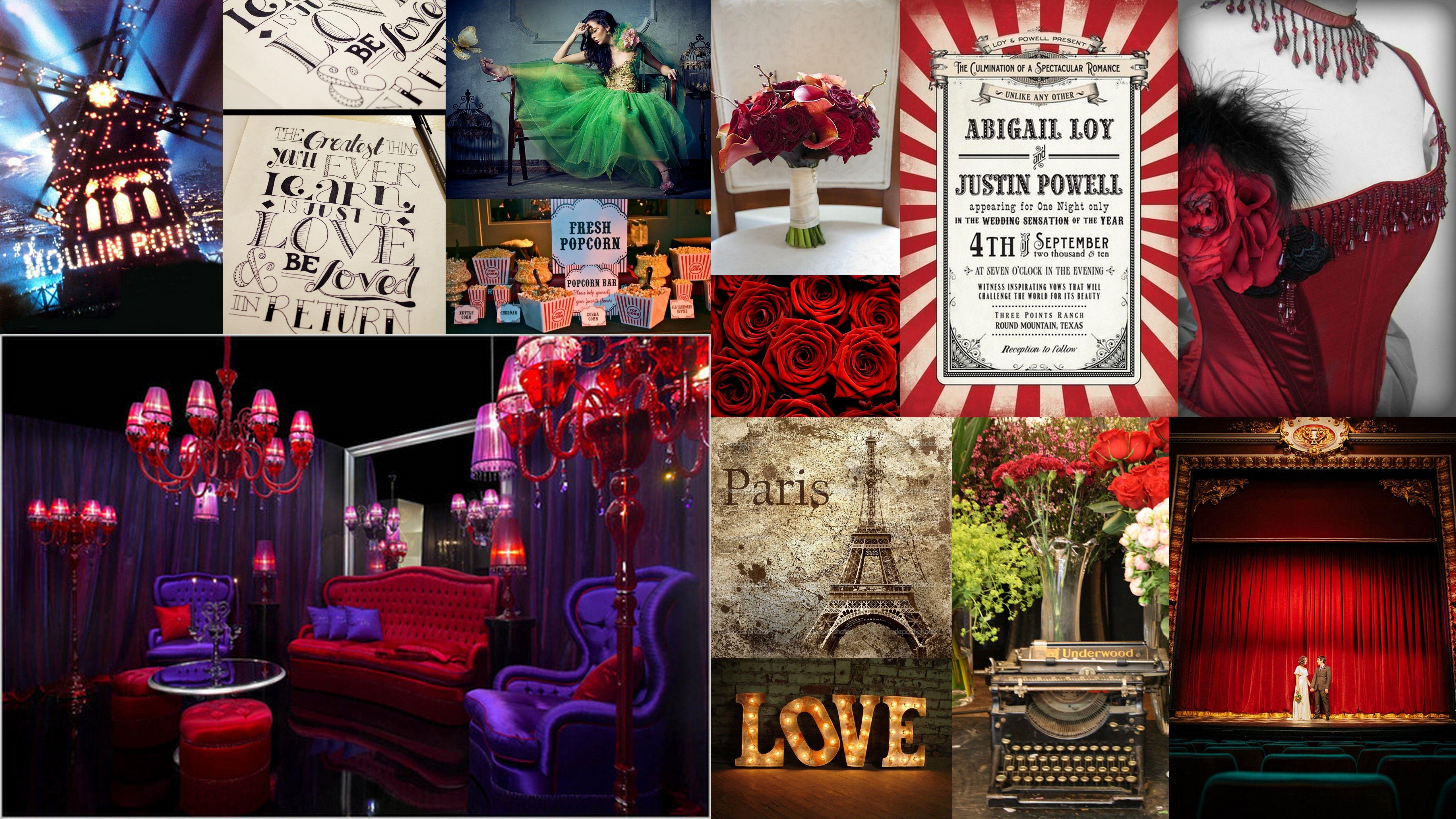 Moulin Rouge Wedding
