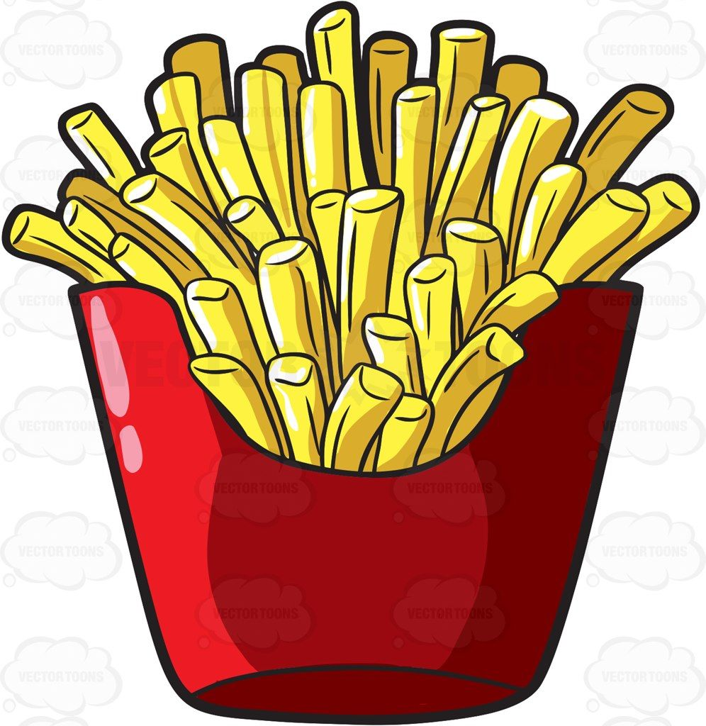a serving of french fries from a fast food chain pinterest rh pinterest com food supply chain clipart food chain clipart