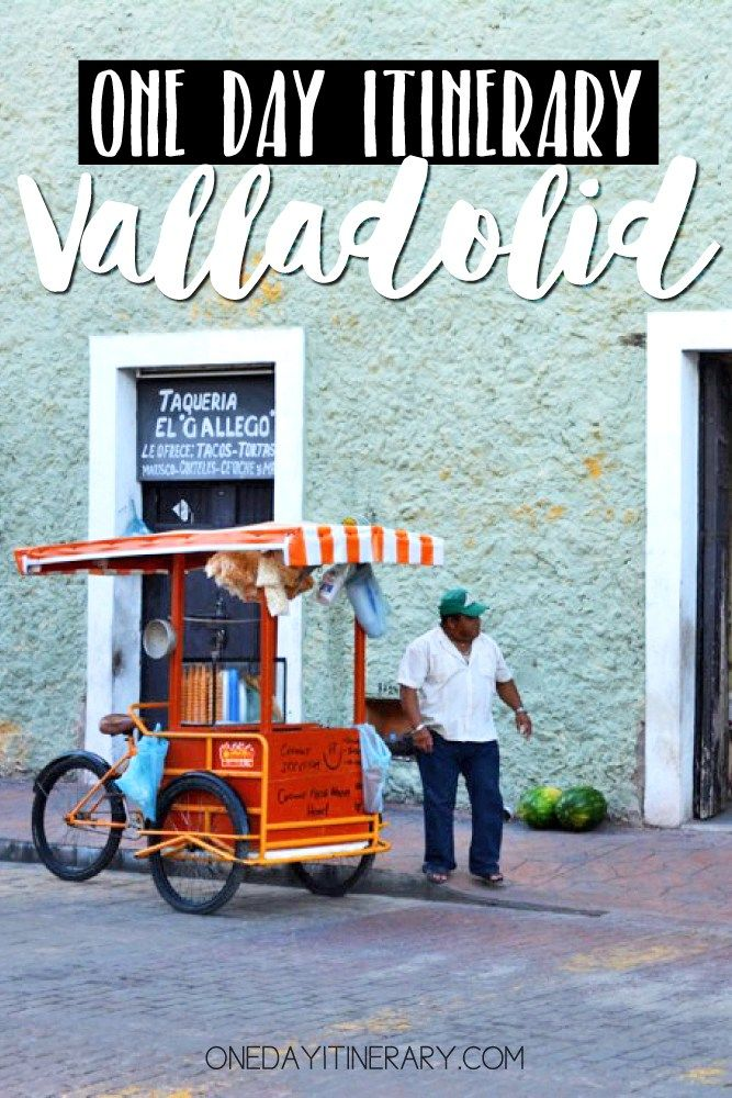 valladolid mexico one day itinerary