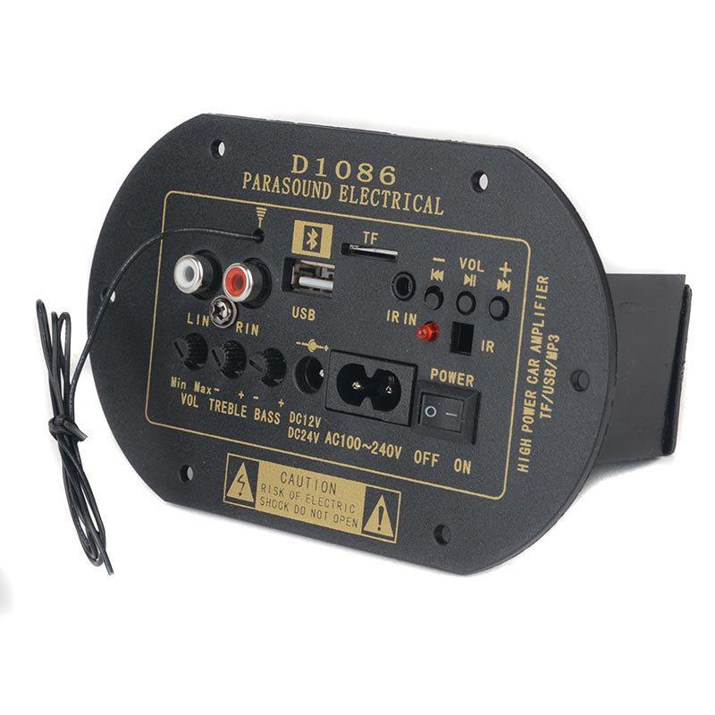 Mini Hifi 30W+30W Stereo Bluetooth Audio Power Amplifier Headphone AMP 12V-24V