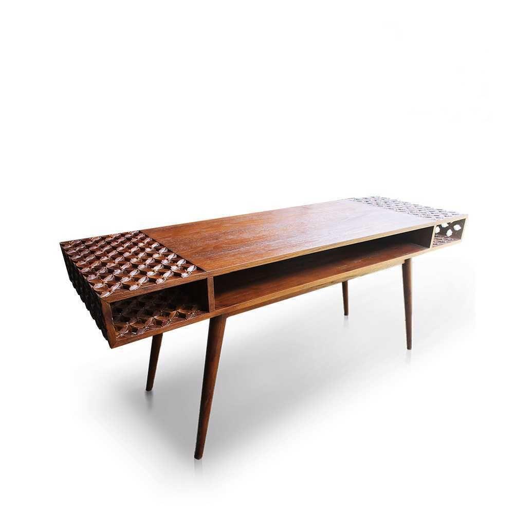 Deva Meja Kayu Dekorku Com Tempat Pesan Furniture Jogja Meja
