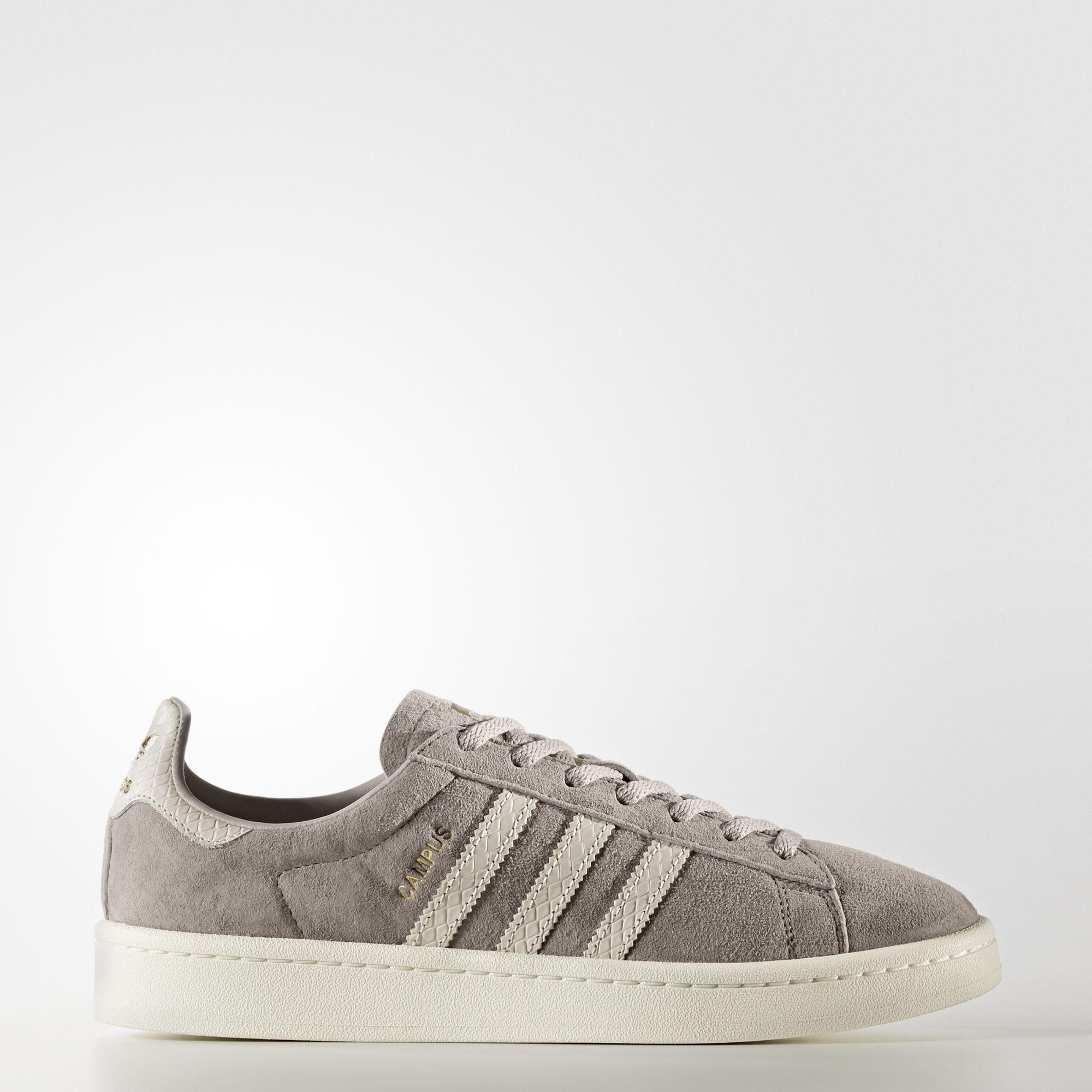 Livraison gratuite sortie vente 100% d'origine Campus Chaussures Adidas Brun / Blanc Cassé choix de jeu magasin de vente Y7Btrx