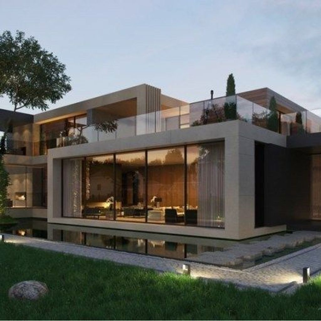 32 Stunning Modern House Design Ideas Minimalist House Design House Architecture Design House Designs Exterior