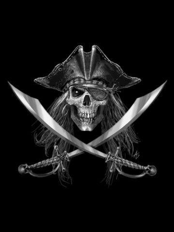 Pirate Skull Wallpaper Skull Droid Wallpapers Gallery