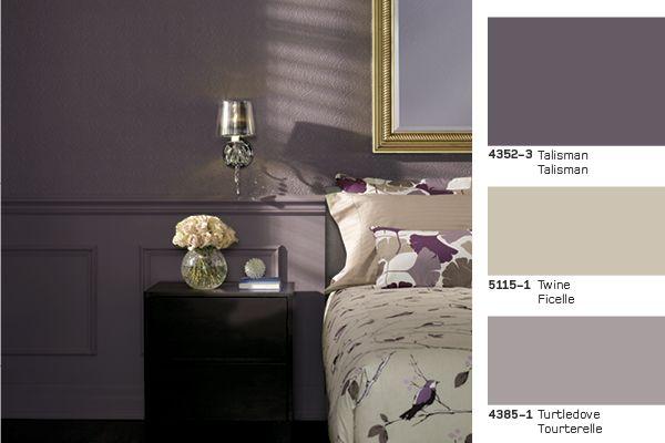 Turtledove bedroom une chambre coucher pour - Peinture pour chambre a coucher ...