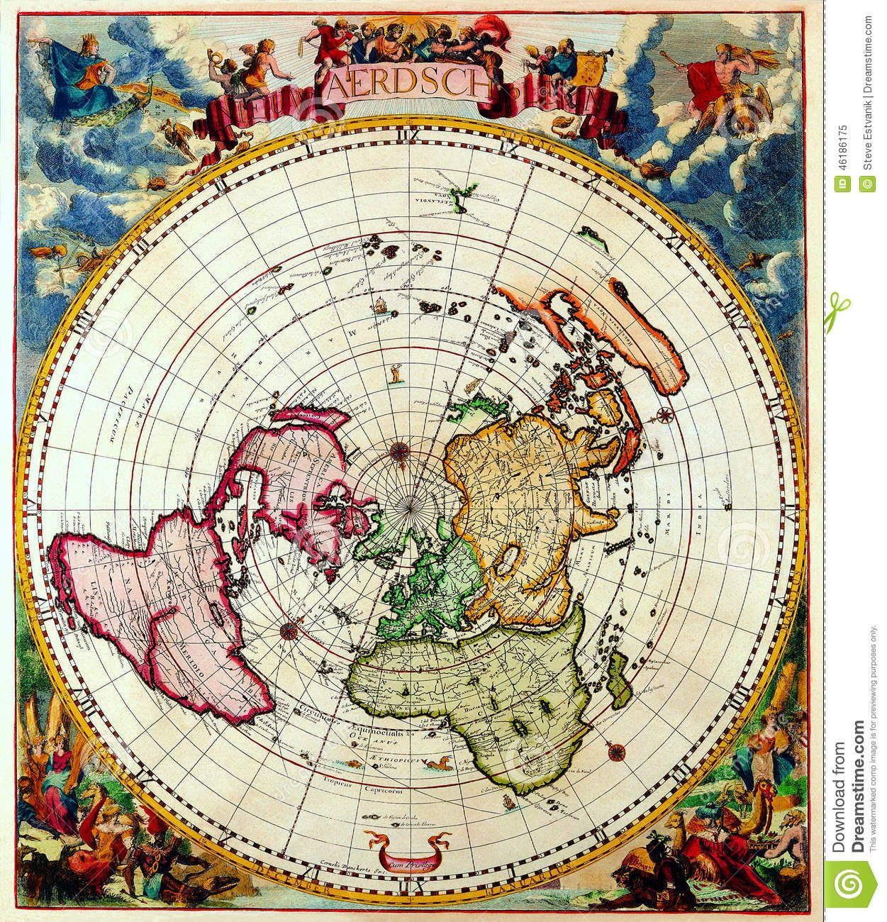 Pin by taco lover on flat earth map pinterest flat earth flat earth old world mapsold gumiabroncs Choice Image