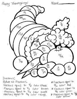 Image result for fraction coloring worksheets 5th grade | samowitz ...