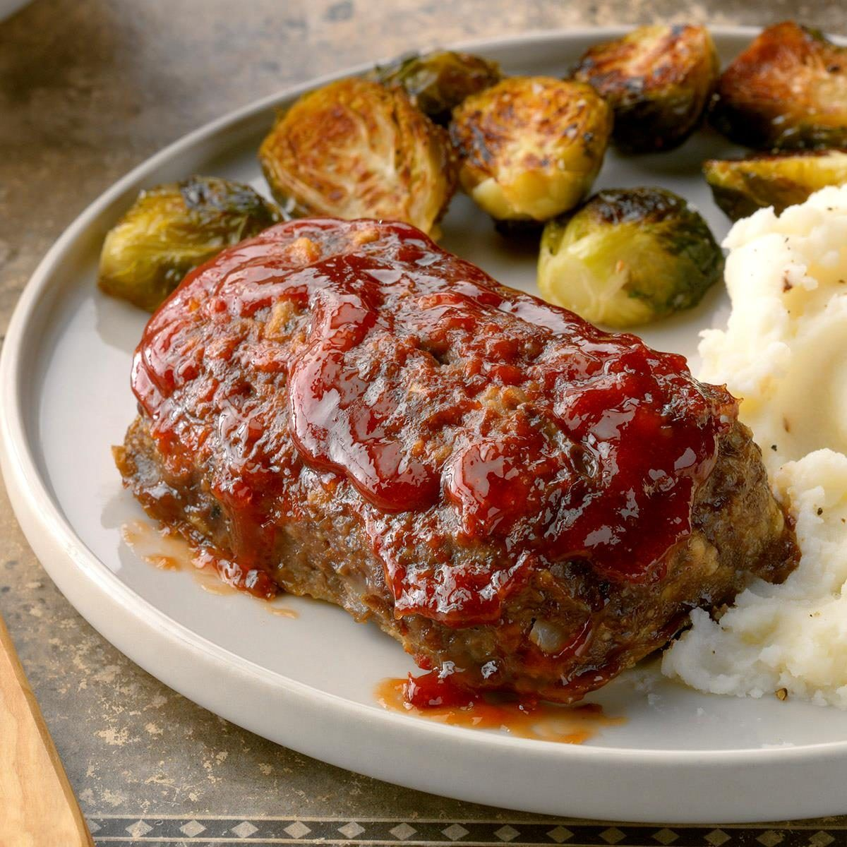 Mom S Meat Loaf For 2 Recipe Small Meatloaf Recipe Meat Recipes For Dinner Beef Recipes