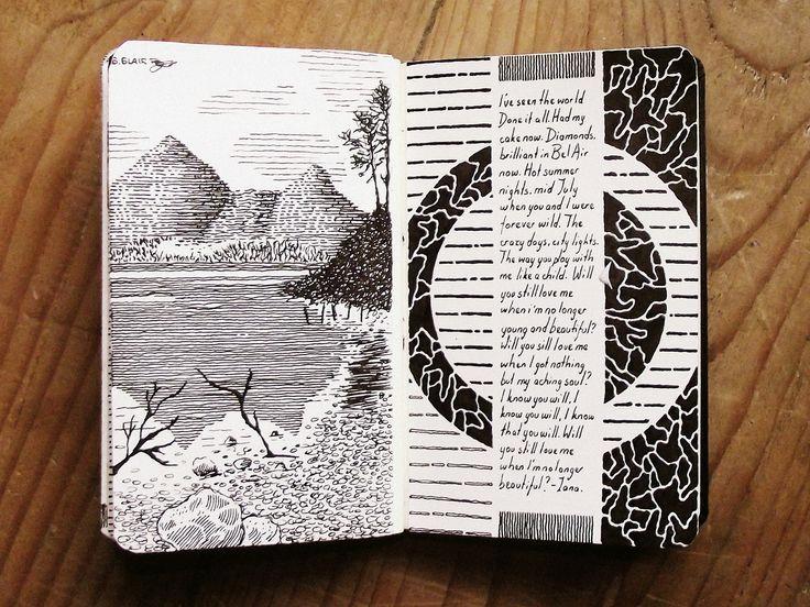 Bdd6d755834d4515169b26334786b80d Moleskine Art Sketchbook Ideas Jpg 736 552 Pi In 2020 Sketch Book Art Journal Sketchbook Journaling