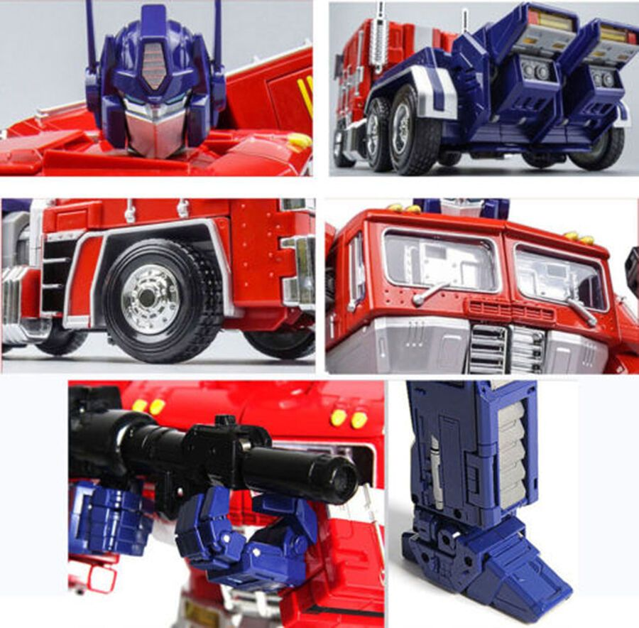 Trailer Gift Christmas Toy Autobot MPP10 WEIJIANG Transformers Optimus Prime
