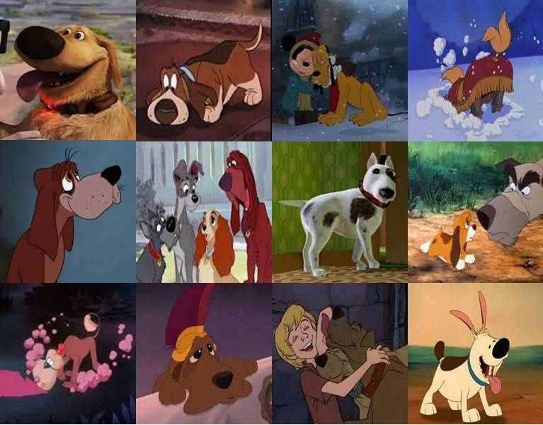 Disney Dogs in Movies Part 1 by ~dramamasks22 on ...
