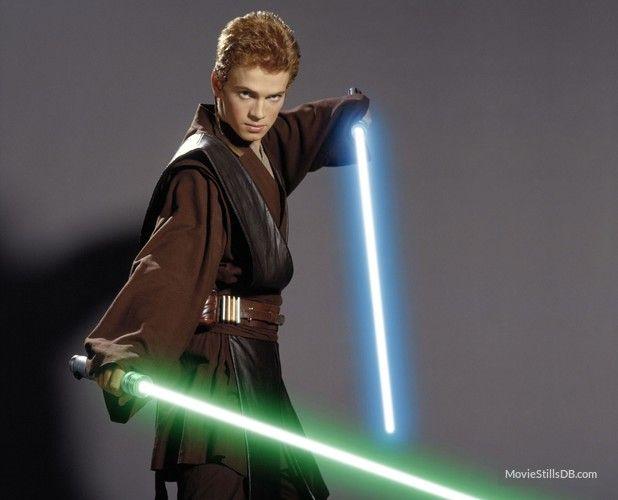 Star Wars: Episode II - Attack of the Clones promo shot of Hayden Christensen