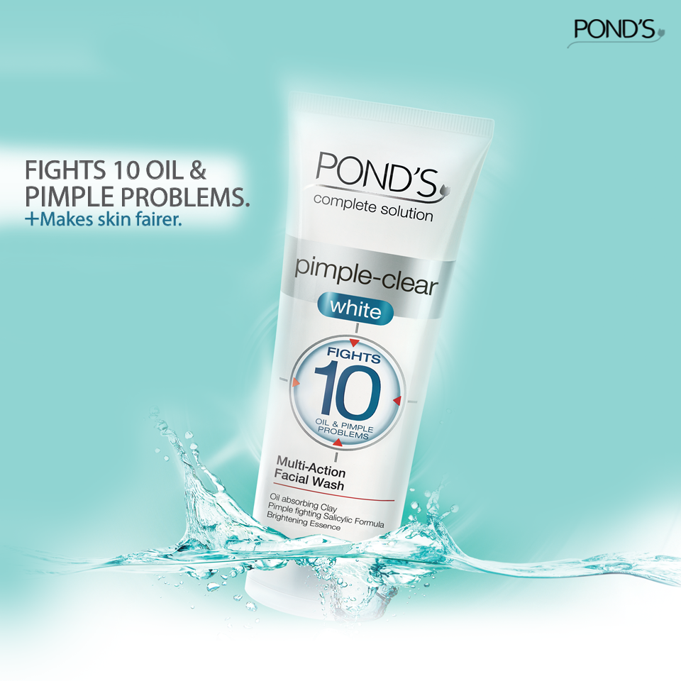 Get Rid Of Those Pimples And Blackheads Once And For All Bring Home The Pond S Pimple Clear White Face Wash Today Facial Wash Face Wash Pimples
