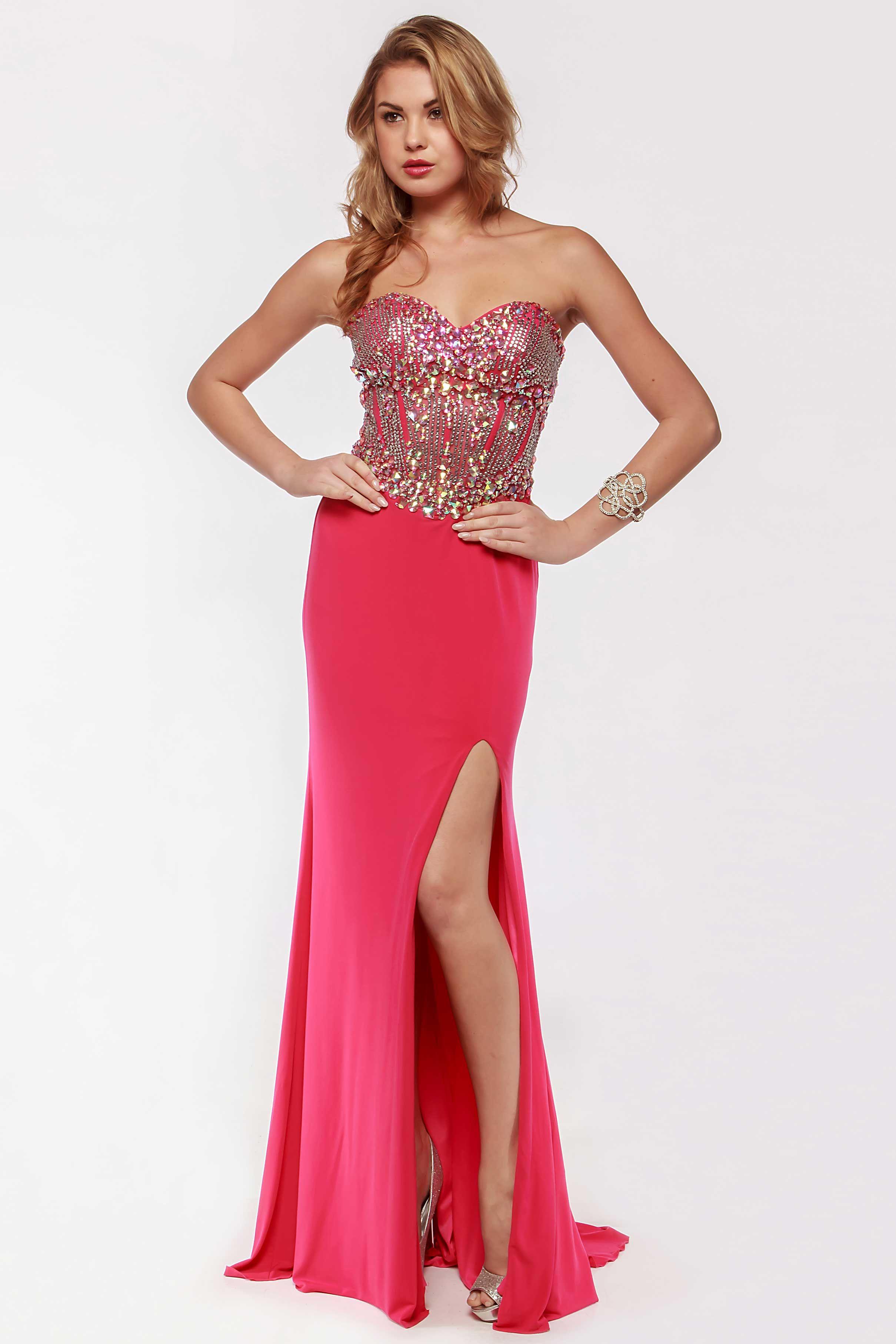 Long prom dress ac floor length sheath shape prom dress with