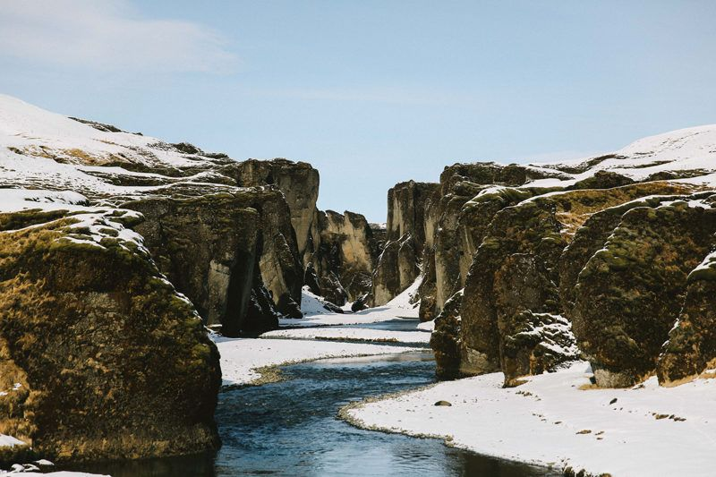 FJADRARGLJUFUR CANYON   Iceland road trip. Trip. Canyon