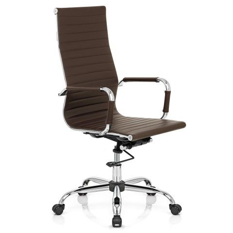 eames style office chairs. Plain Office Metro Eames Style Office Chair Brown In Chairs