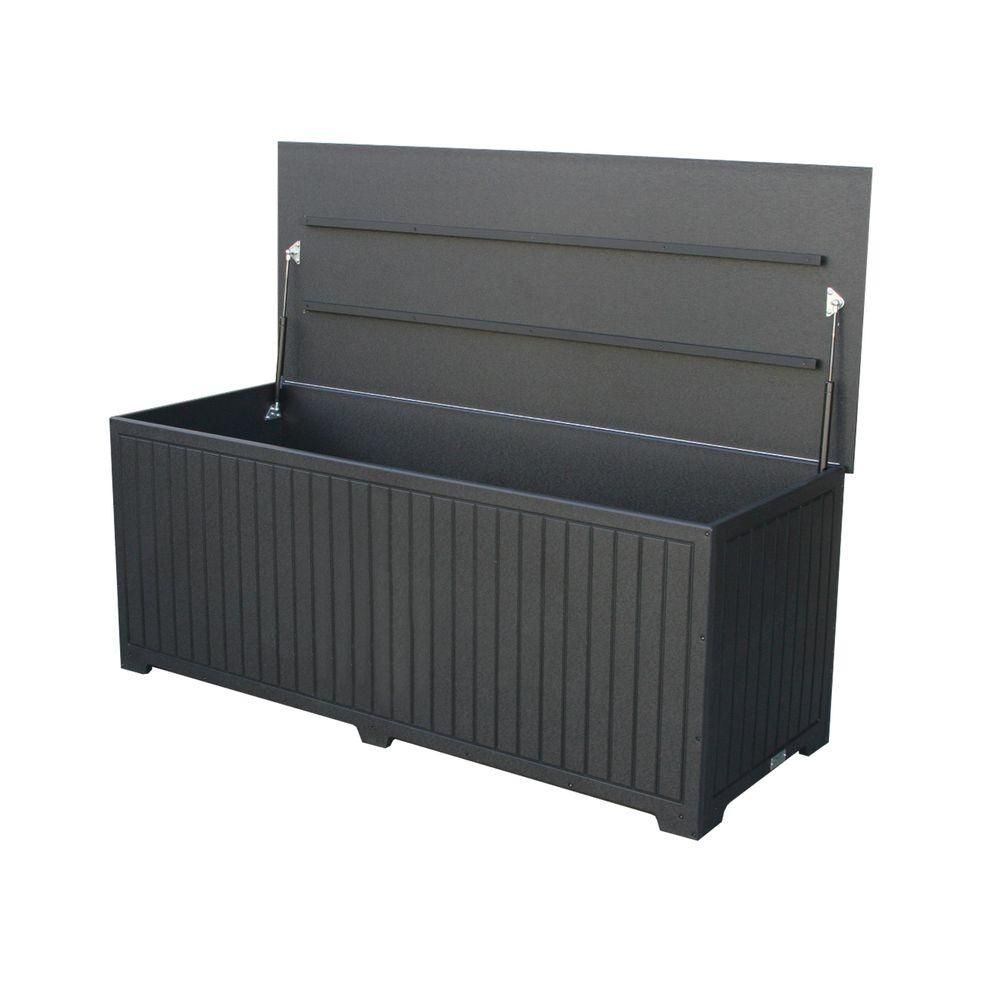 Storage Boxes Sydney Sydney 110 Gal Extra Large Black Recycled Plastic Commercial