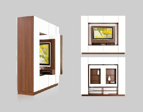 Frames for LCD or Plasma TVs: TV Frame or Room Divider? Both. | home ...