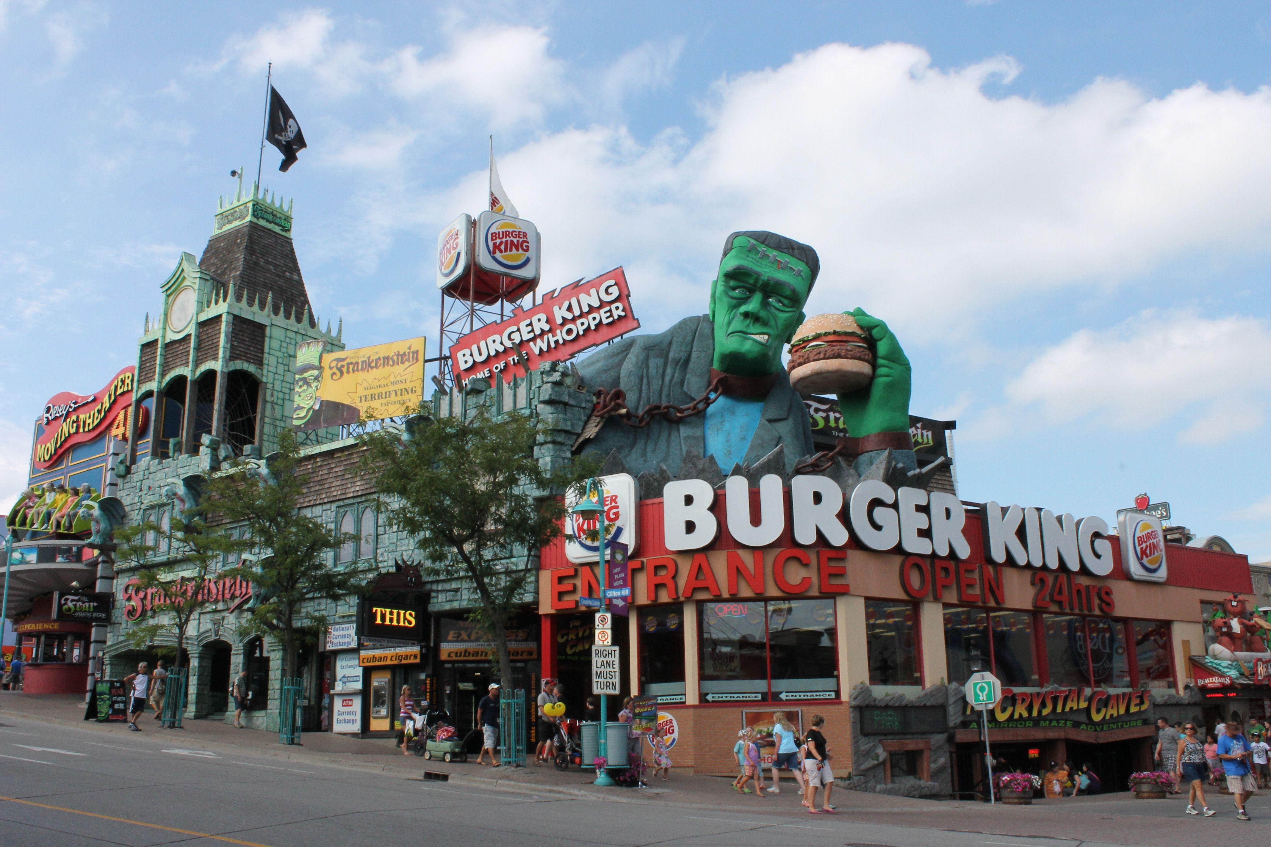 Downtown Niagara Falls Ontario Moving To Canada Canada
