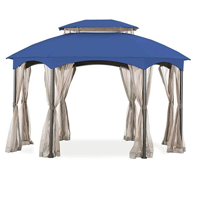 Manhattan Oval Gazebo Canopy 2019 Oval Gazebo Replacement Canopy Gazebo