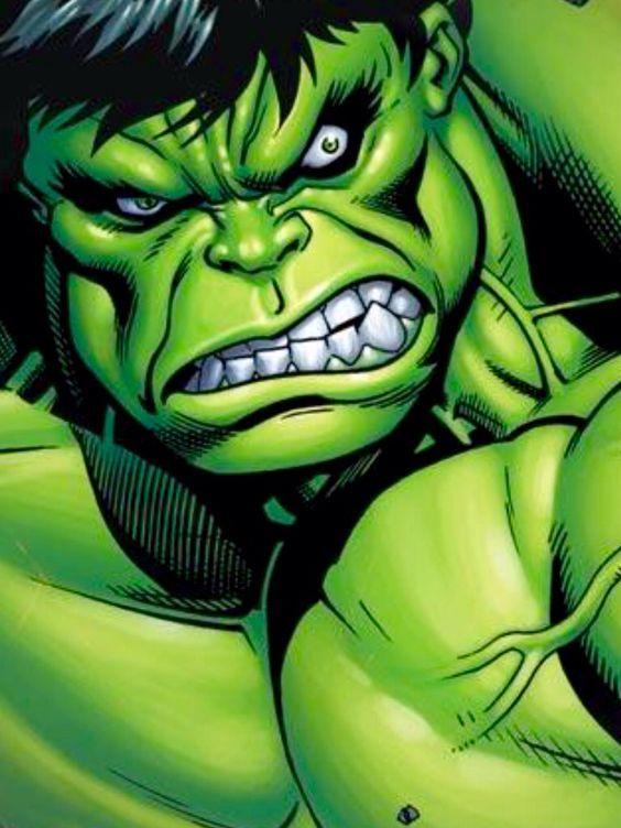 incredible hulk art gallery - photo #44
