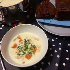 Maistuu hyvältä (Tastes good): LOHIKEITTO- SALMON SOUPSalmon soup is a very tradi...