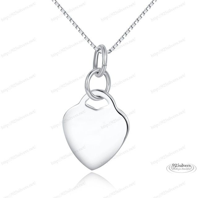 925 Sterling Silver Heart Pendant #117, engrave on my own?