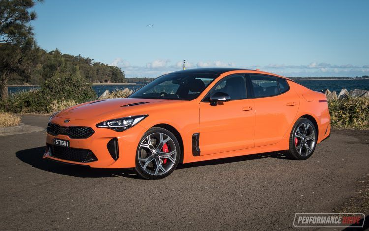 2020 Kia Stinger Gt Review Video Performancedrive Kia Stinger Kia Skoda Superb
