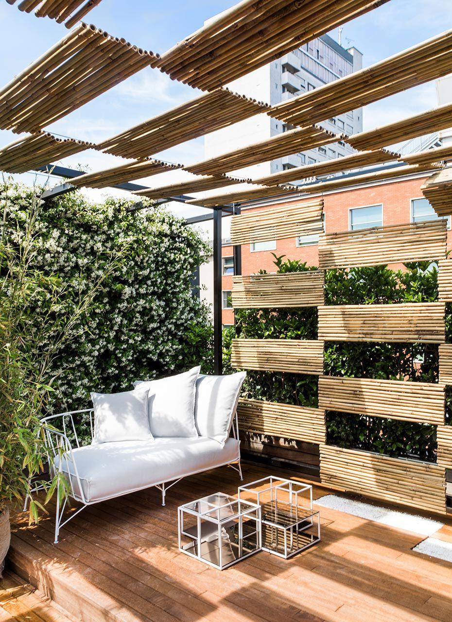 The sun decorates the new Roof Garden of Senato Hotel