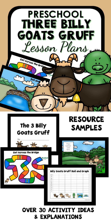 Three Billy Goats Gruff Theme Preschool Classroom Lesson