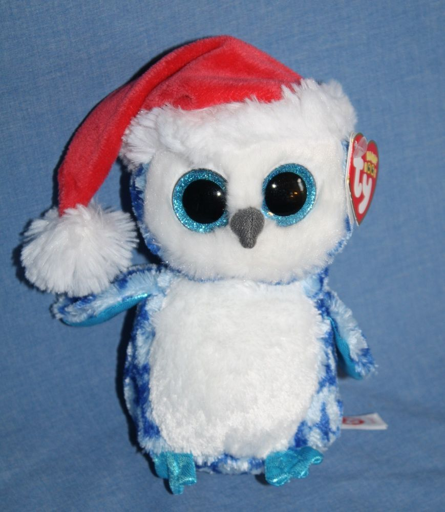 """MWMT Claire/'s Exclusive Ty Beanie Boos ~ BUBBLY the Owl 6/"""""""