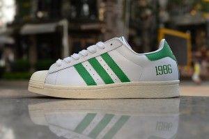 adidas superstar groen