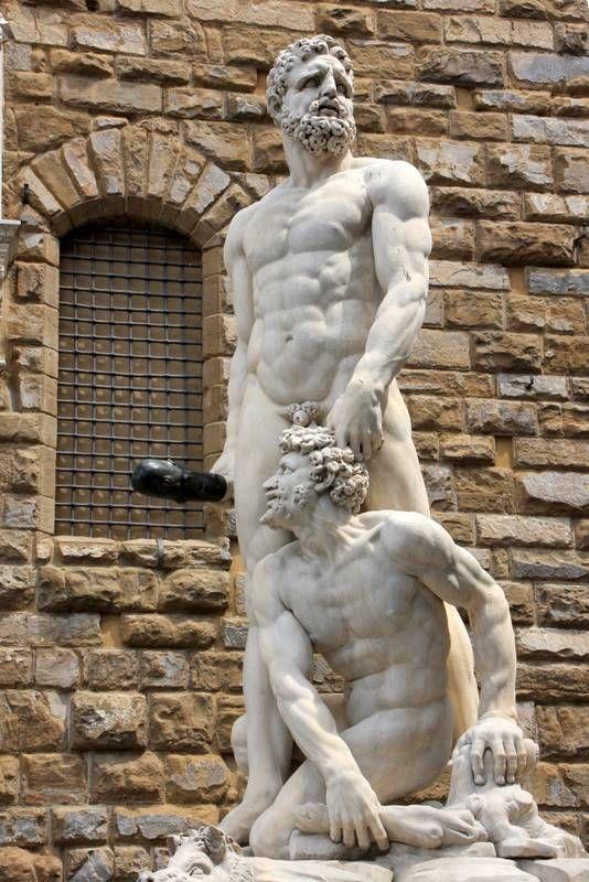 hercules and cacus statue ile ilgili görsel sonucu