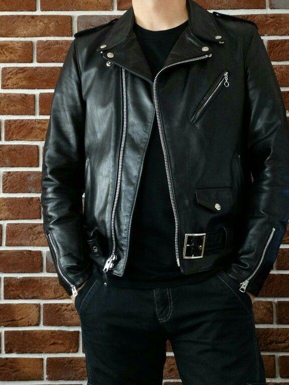 Oryginalna Ramoneska Schott Nyc 626 Idealny Stan Leather Jacket Leather Jacket Style Fur Leather Jacket