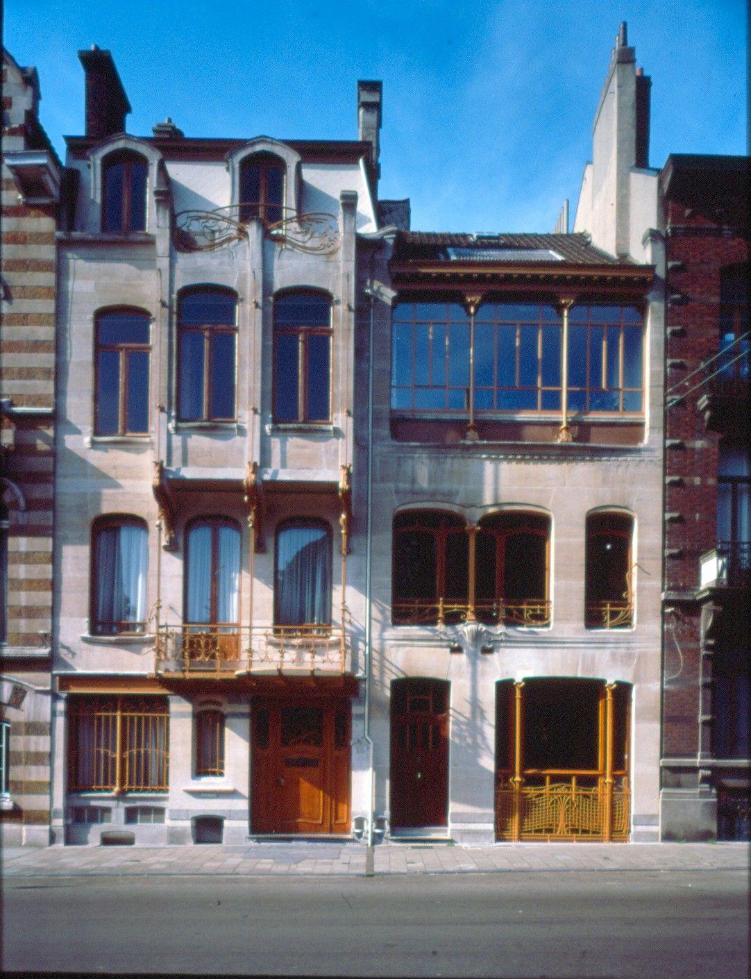 saint gilles ancienne maison et atelier de victor horta mus e horta rue am ricaine 23 25. Black Bedroom Furniture Sets. Home Design Ideas