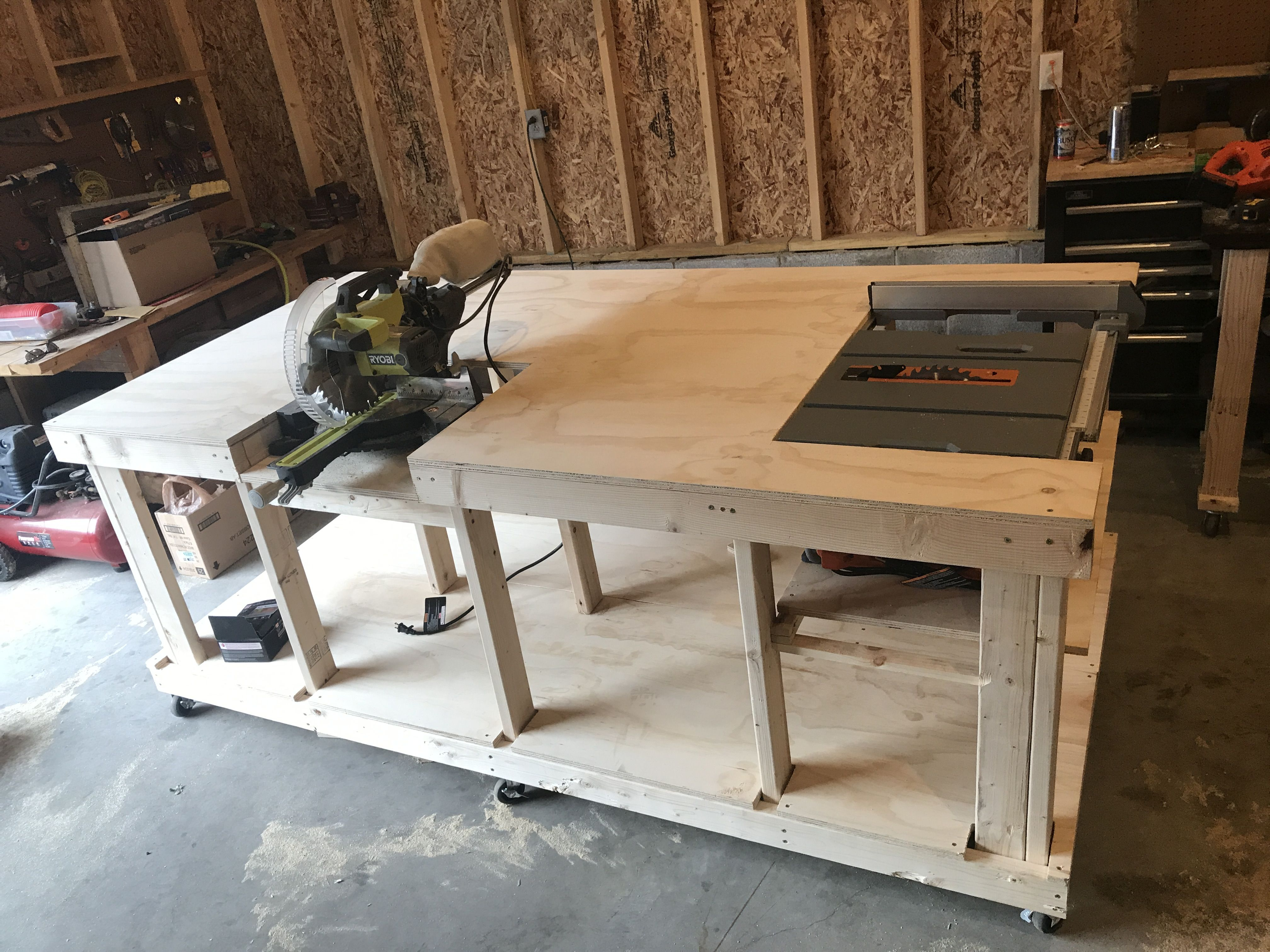 Wondrous Ultimate Workbench I Wanted To Build A Mobile Workbench Customarchery Wood Chair Design Ideas Customarcherynet