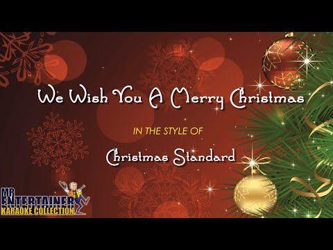 We Wish You A Merry Christmas Karaoke Happy New Year Youtube Christmas Merry Christmas