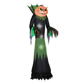 10.0065-Ft X 3.2808-Ft Lighted Jack-O-Lantern Halloween Inflatable G-6