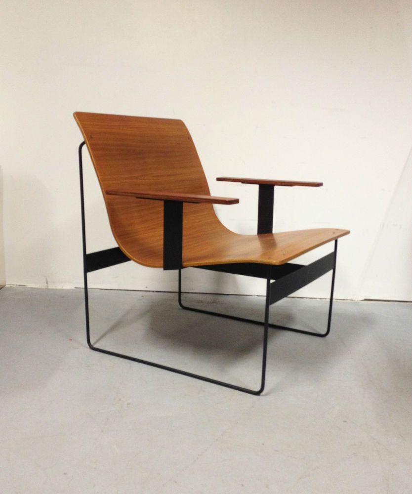1 (of 2) modernist Chair Design Gunther Renkel Twen Rego ...