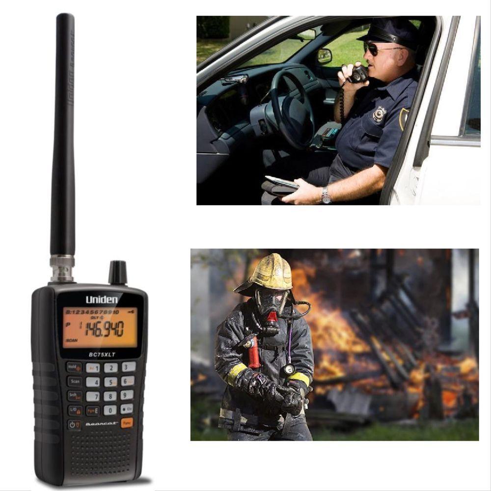 Portable Safety Scanner Radio Digital Police Emergency