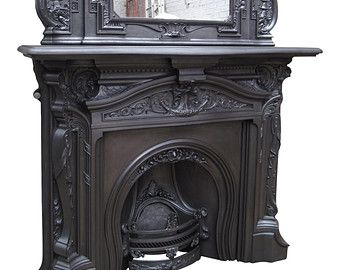 Iron and Fireplace mantles