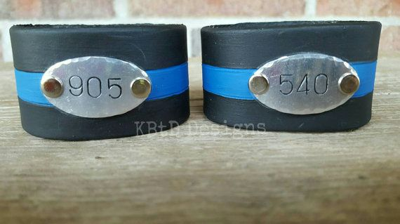 Check out this item in my Etsy shop https://www.etsy.com/listing/466814177/police-officer-leather-cuff